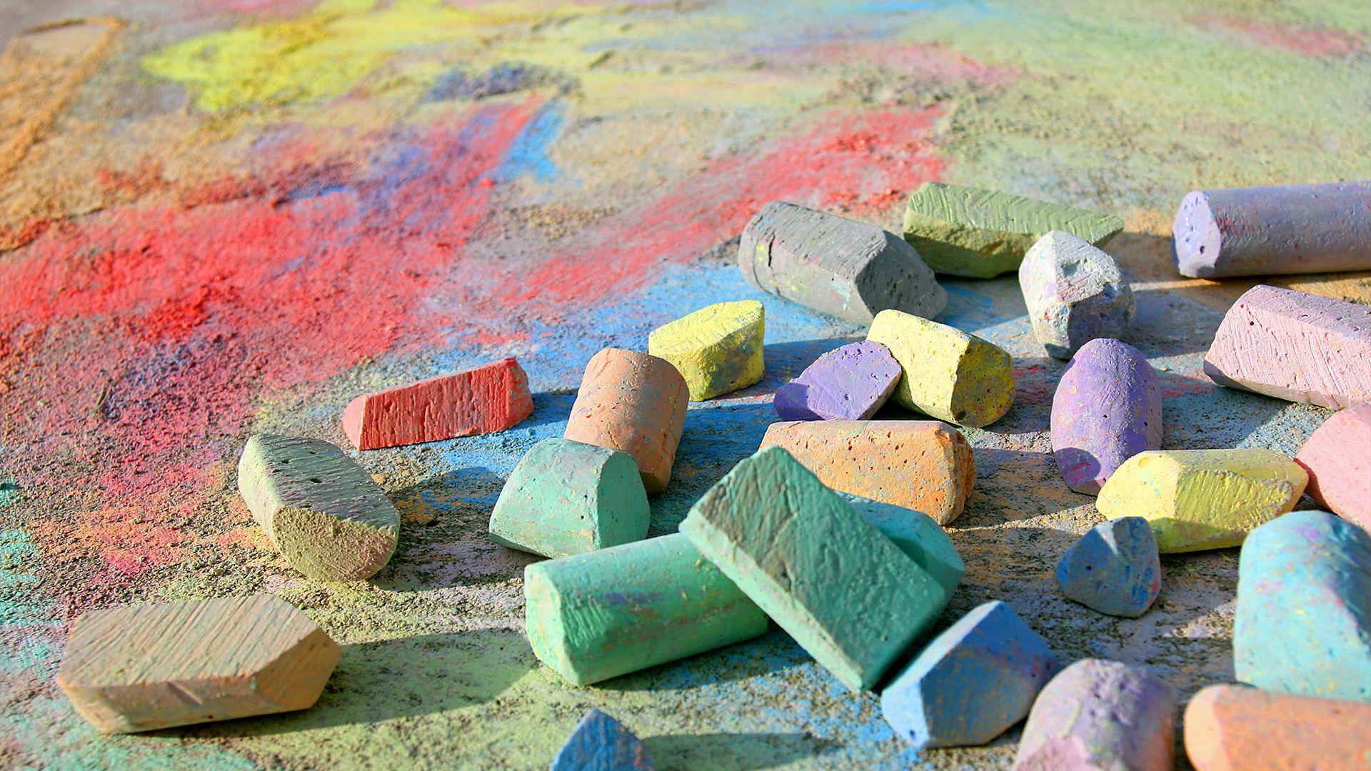5 New Ways to Use Sidewalk Chalk